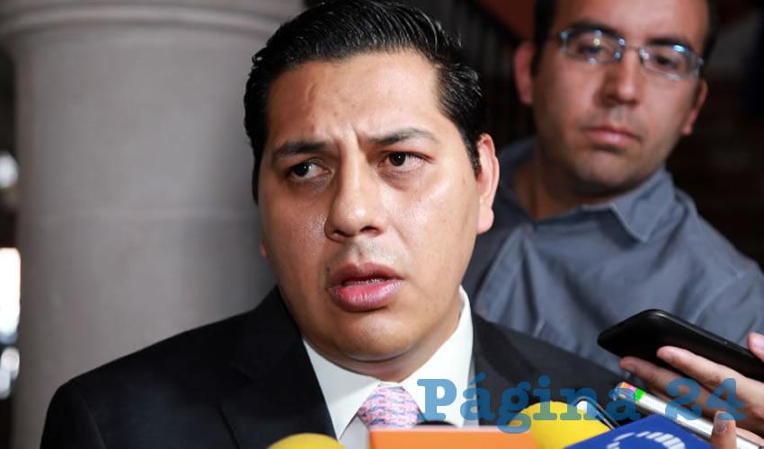 Francisco Javier Luévano Núñez, secretario general de Gobierno (Foto: Eddylberto Luévano Santillán)