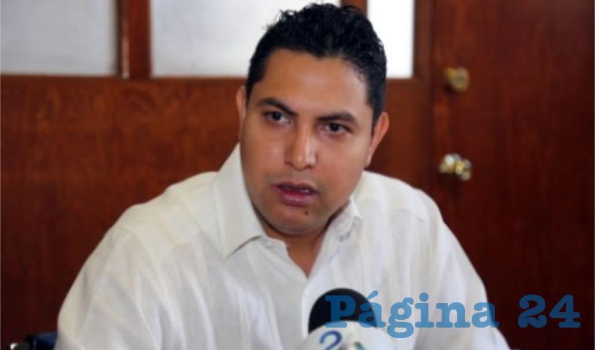 Rodrigo Iván Infante de Alba Dávila, delegado de la Profeco