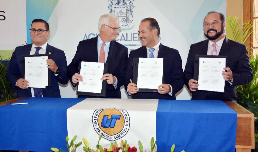 Tenemos todo el compromiso para que Aguascalientes siga siendo pionero en temas como la doble titulación y la movilidad estudiantil: MOS