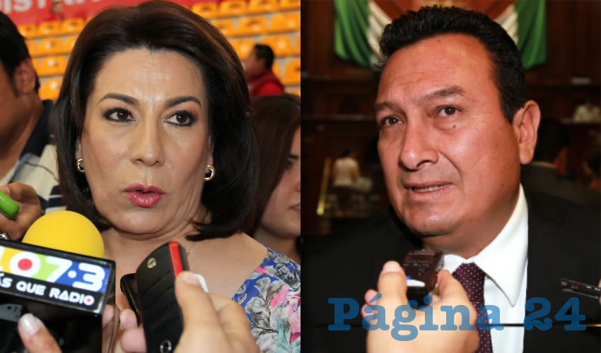 Lorena Martínez Rodríguez | Jesús Morquecho Valdez, diputado local