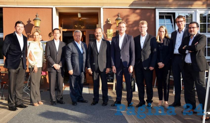 Refrendamos los lazos de colaboración para que la alianza comercial Alemania- Aguascalientes siga fortaleciéndose