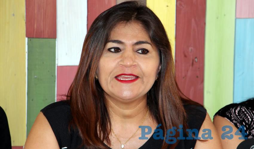 Nora Ruvalcaba Gámez, excandidata a la Gubernatura del Estado