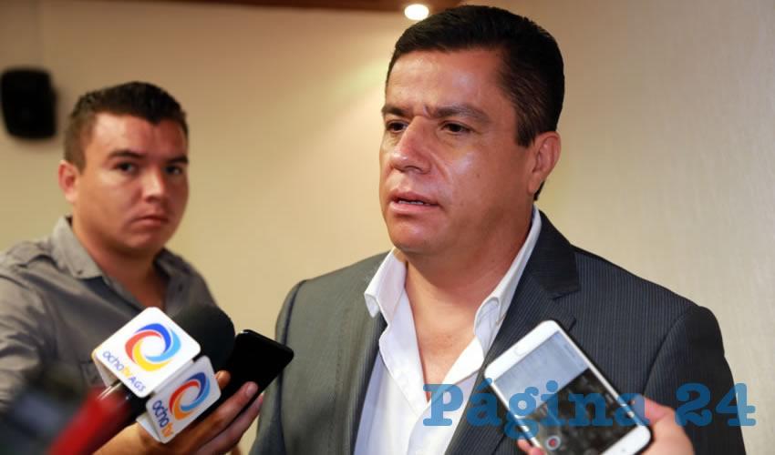 Arturo Fernández Estrada, legislador local (Foto: Eddylberto Luévano Santillán)