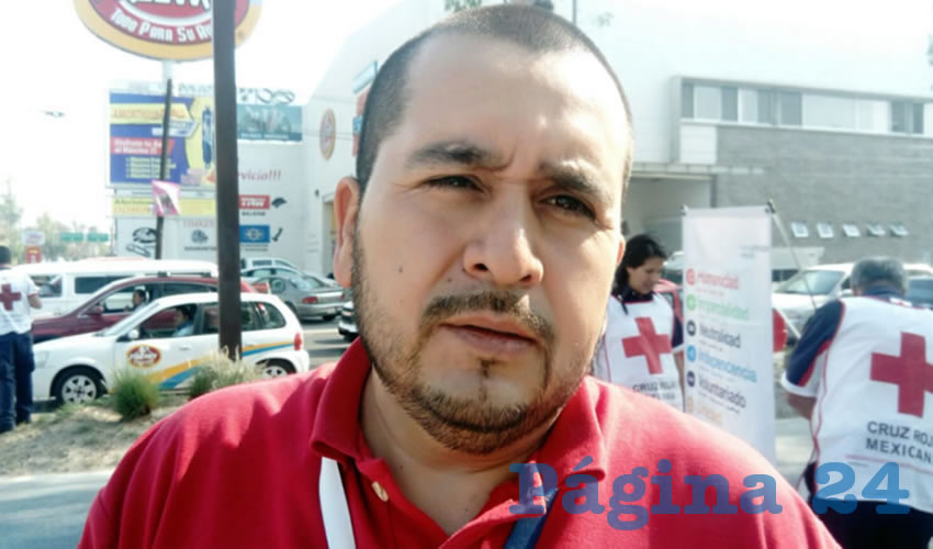 Josué Neftalí Puentes Vázquez, jefe del Departamento de Emergencias Médicas del ISSEA