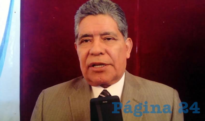 Ismael Landín Miranda, presidente del Colegio de Médicos Cirujanos de Aguascalientes