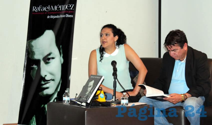 Libro Sobre la Vida del Trompetista Rafael Méndez es Presentado en Feria Nacional