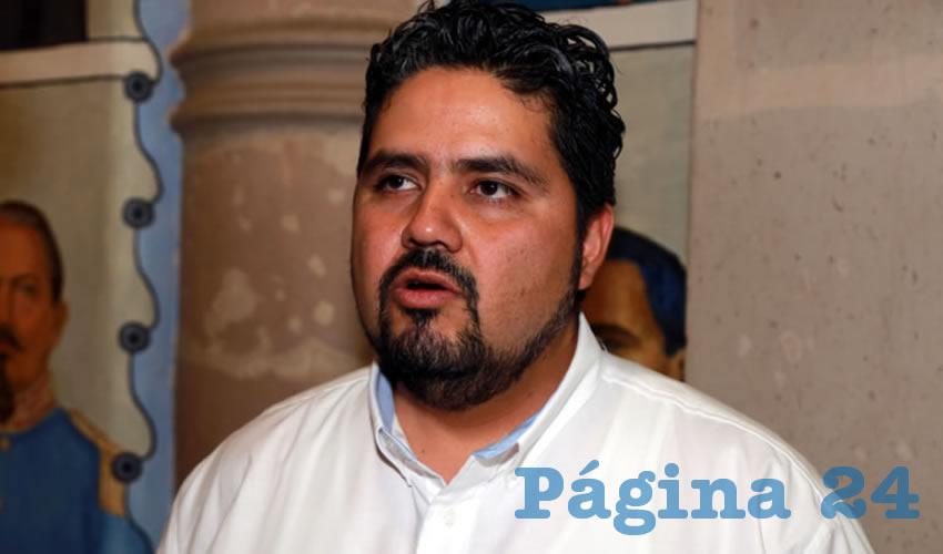 Iván Alejandro Sánchez Nájera, legislador local (Foto: Eddylberto Luévano Santillán)