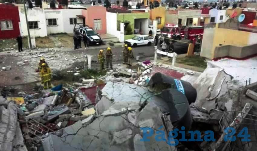Explota tanque de gas en Tepatitlán, Jalisco