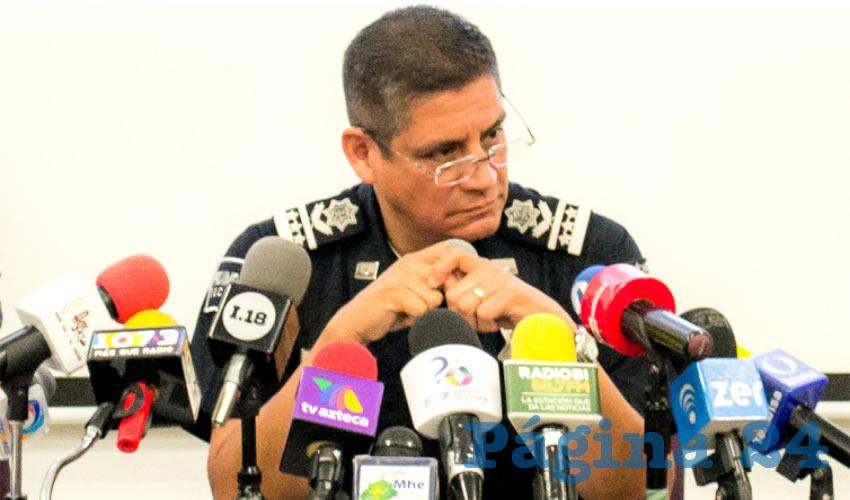 José Héctor Benítez López, secretario de Seguridad Pública Municipal
