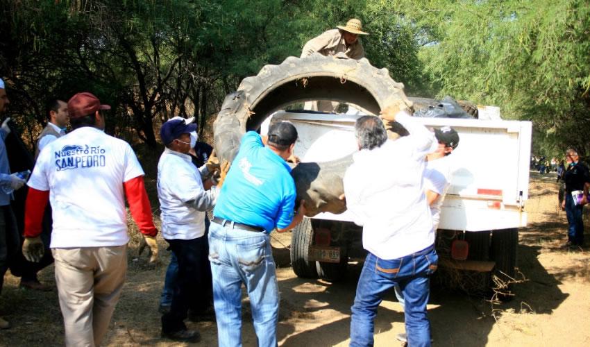 Las labores de limpieza iniciaron en el Municipio de Aguascalientes y continuarán en Jesús María y San Francisco de los Romo
