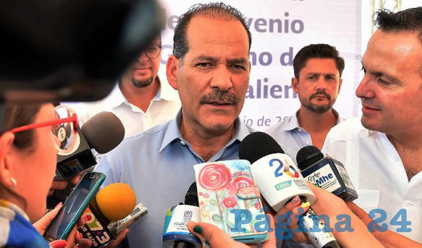 Martín Orozco Sandoval, gobernador del Estado