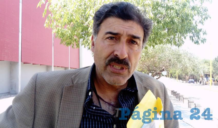 Raúl Franco Díaz de León, director general de Servicios Educativos de la UAA