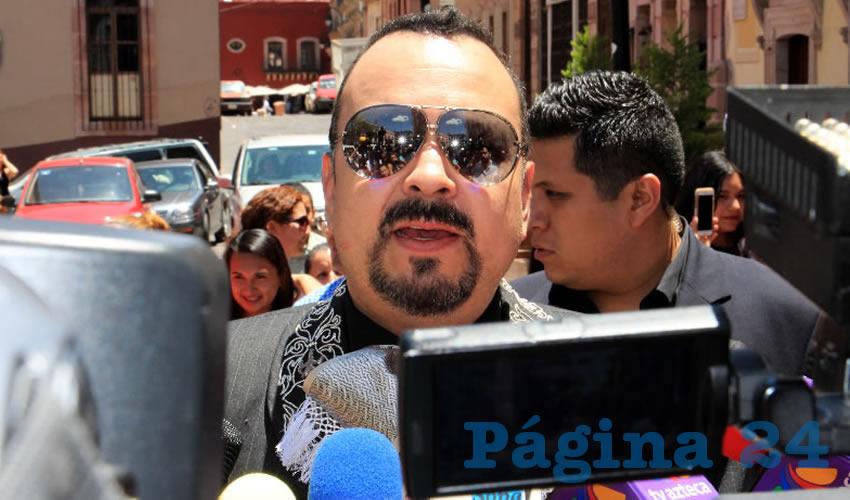 Pepe Aguilar (Foto: Rocío Castro Alvarado)