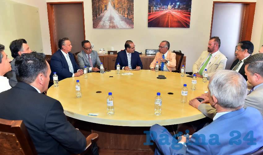 El Gobierno del Estado, Abierto a Consolidar Alianzas a Favor de la Causas Sociales: MOS