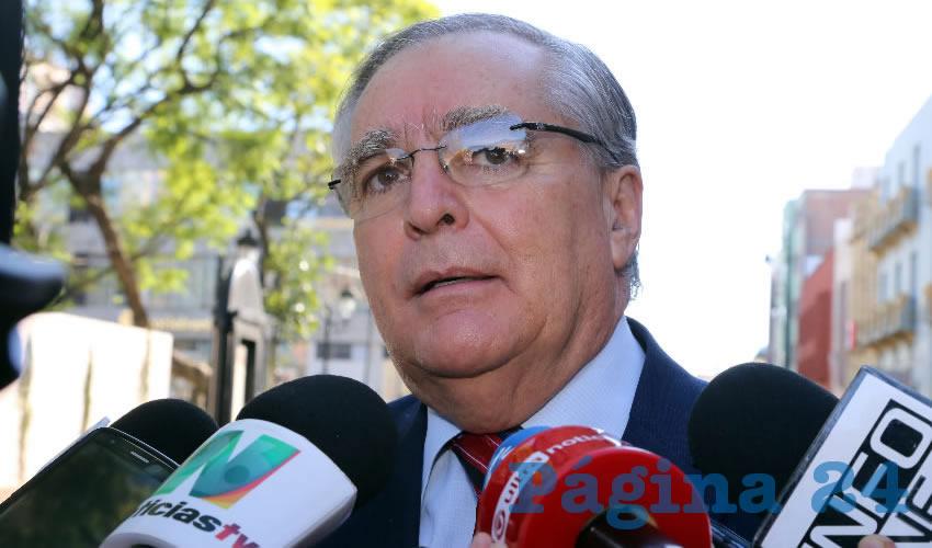 Deben Analizarse a Fondo los Casos de Espionaje Telefónico: Miguel Romo