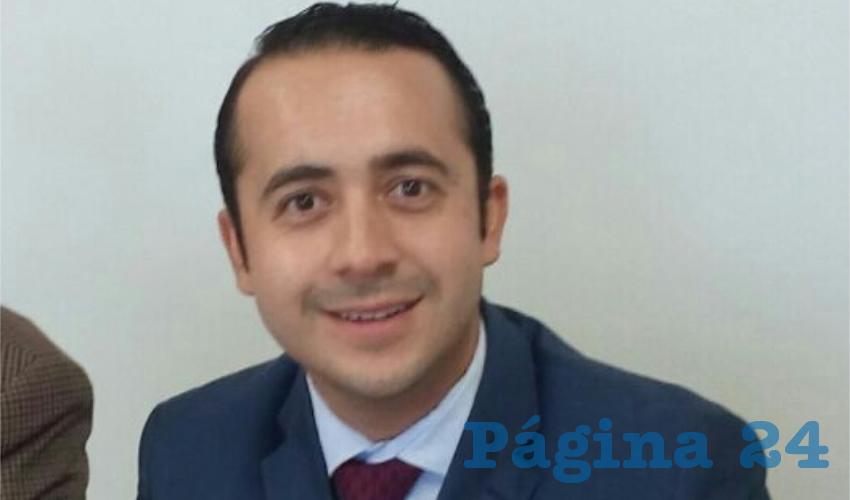 Héctor Gerardo Gómez Castro, director general del Trabajo de la Secretaría General de Gobierno