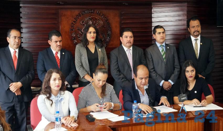 El PRI, PVEM y PANAL, Salen en Defensa de su Iniciativa Para Eliminar el Fuero