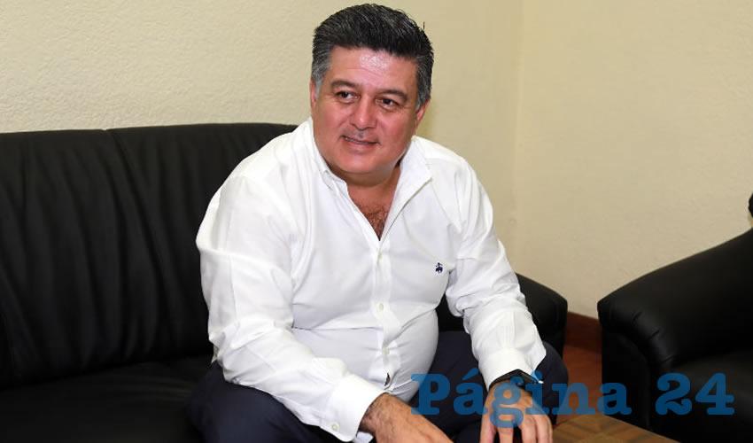 Alfredo Cervantes García, secretario de Finanzas del Municipio (Foto: Eddylberto Luévano Santillán)