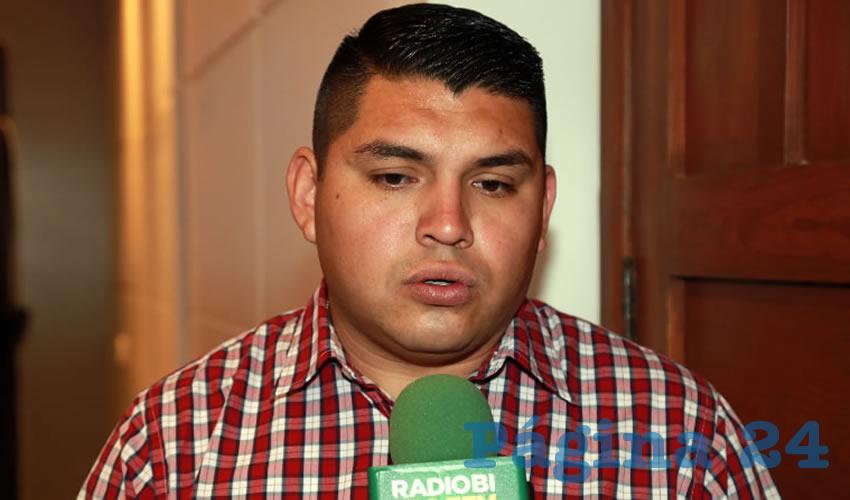 José Franco Toscano, coordinador de Protección Civil Municipal (Foto: Eddylberto Luévano Santillán)