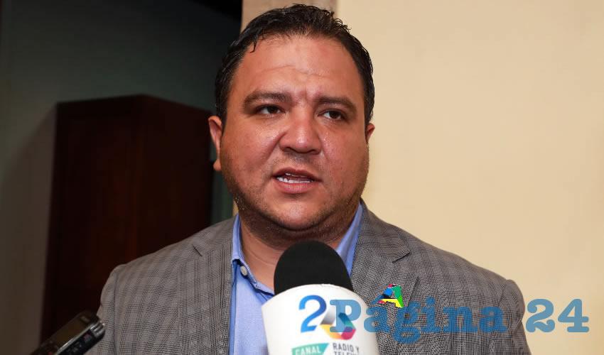 Refugio Muñoz de Luna, director de CCAPAMA