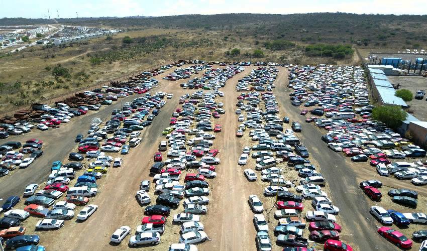 Podrían subastarse hasta casi 400 automóviles