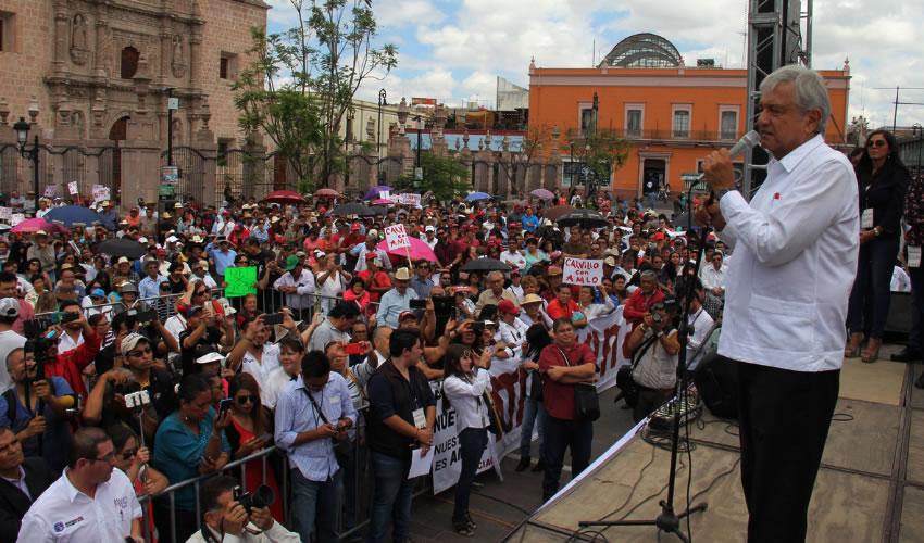 """Andrés Manuel López Obrador ...""""la tercera es la vencida""""..."""
