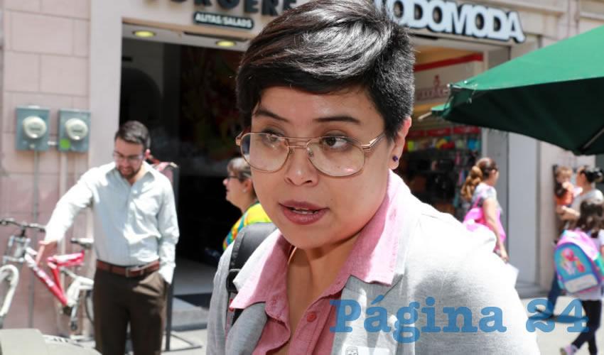 Mariana Ávila Montejano, coordinadora del OVSGA (Foto: Eddylberto Luévano Santillán)