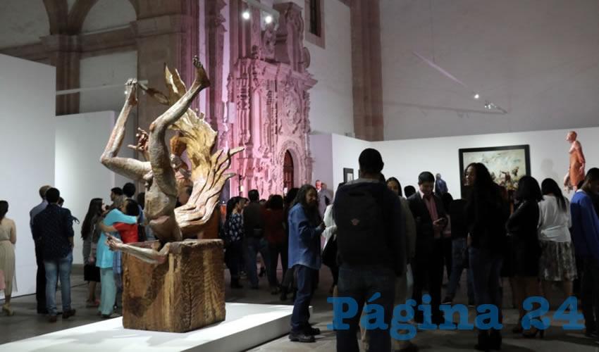 El artista busca, con esta exposición, provocar en el espectador la confrontación, sus encuentros y desencuentros