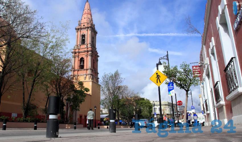 La inversión es de 40 millones de pesos, y comprende también la rehabilitación de una parte de la calle Miguel Hidalgo