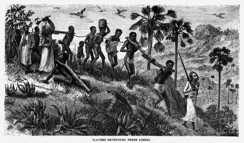 África sufrió el esclavismo en gran escala por cientos de años