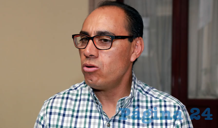Jesús Adrián Castillo Serna, secretario de Desarrollo Urbano Municipal