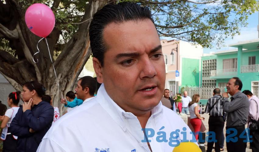 Héctor Eduardo Anaya Pérez, secretario de Servicios Públicos del Municipio