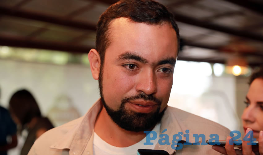 Jiovani Romo Delgado, jefe del Departamento de Restauración de la Conafor (Foto: Eddylberto Luévano Santillán)