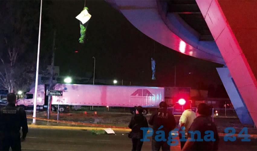 En la semana del 3 al 10 de julio pasado se registraron al menos 37 ejecuciones en la zona conurbada de Guadalajara, entre ellos tres colgados en Periférico Poniente y Tutelar, en la pelea por el control de la plaza entre el CJNG y Los Zetas; de acuerdo con investigador y académico de la UdeG/Fotos: Especial