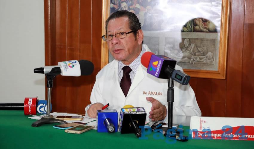 Enrique Ávalos Carrazco, presidente de la Sociedad Nacional de Medicina General