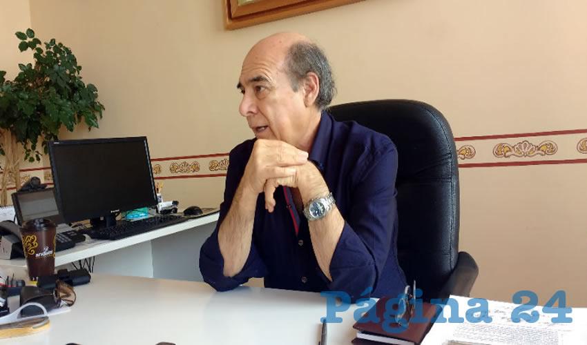Héctor Castanedo Quirarte, delegado del INAH en Aguascalientes
