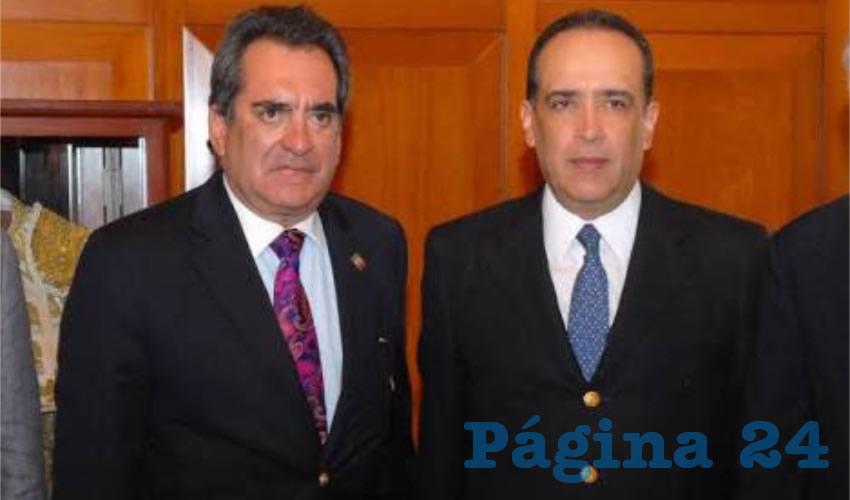 Carlos Lozano de la Torre y Felipe Muñoz Vázquez ... perversos, represivos, traidores, desleales...