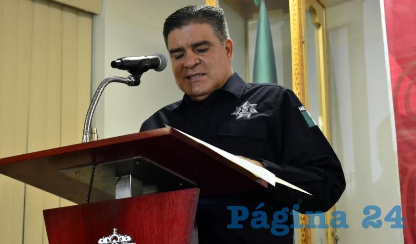 Ismael Camberos Hernández: Gracias a dos acciones distintas que realizó la Policía Estatal Preventiva (PEP), se logró dicha detención mencionada anteriormente, uno de ellos en Loreto, presunto líder de un grupo que opera en el sureste del estado y otro, en Fresnillo, que opera en esa región (Foto: Alberto Núñez Hernández)