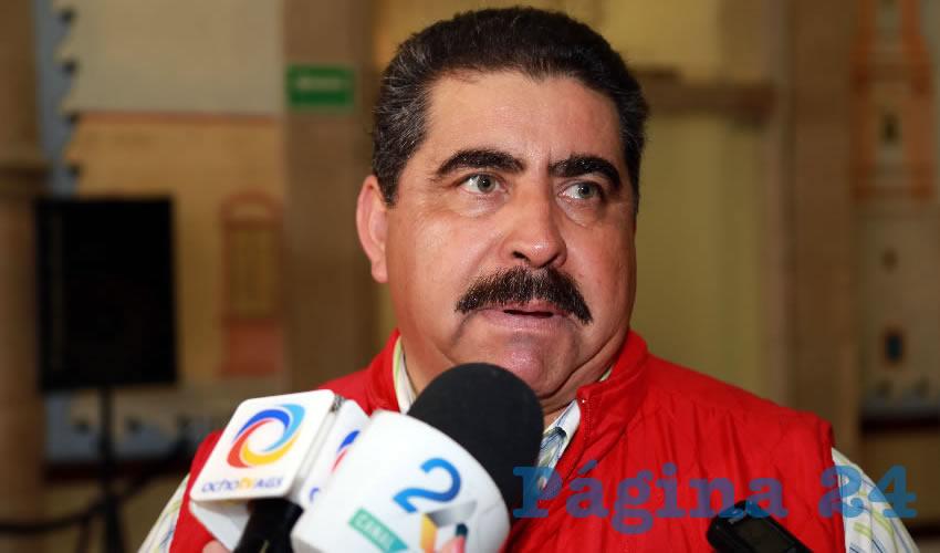 David Nájera Moreno, legislador local (Foto: Eddylberto Luévano Santillán)
