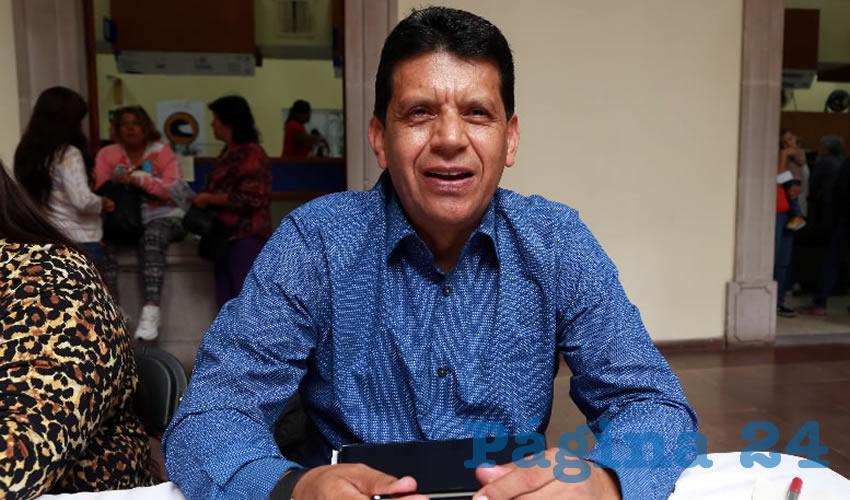 Marco Antonio Licón Dávila, secretario de Obras Públicas del Municipio (Foto: Eddylberto Luévano Santillán)