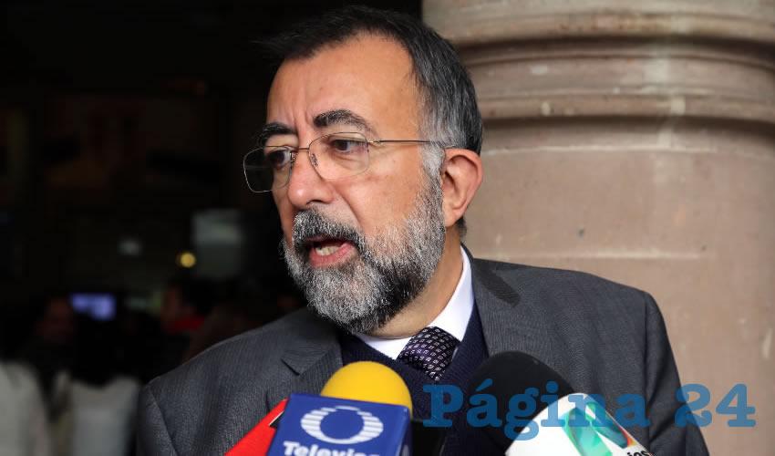 Jesús Eduardo Martín Jáuregui, titular de la CEDHA