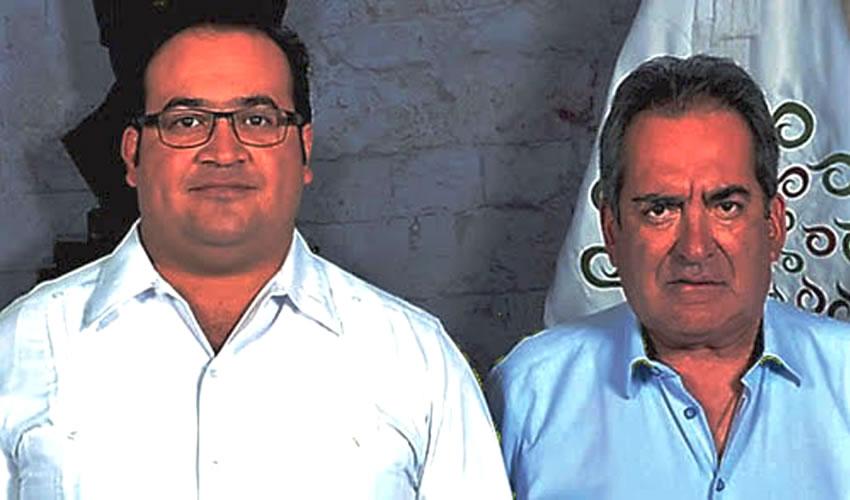 Javier Duarte de Ochoa y Carlos Lozano de la Torre ...dos connotados priístas...