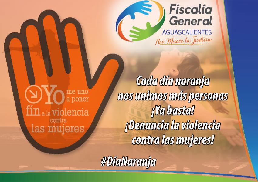 La Fiscalía General del Estado de Aguascalientes invita a toda la población a unirse en contra de este mal social
