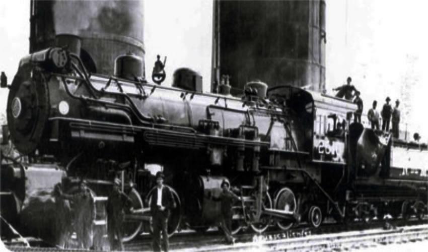 Trabajadores ferrocarrileros de Aguascalientes (Foto: Archivo Histórico del Estado de Aguascalientes/aguascalientes.gob.mx)