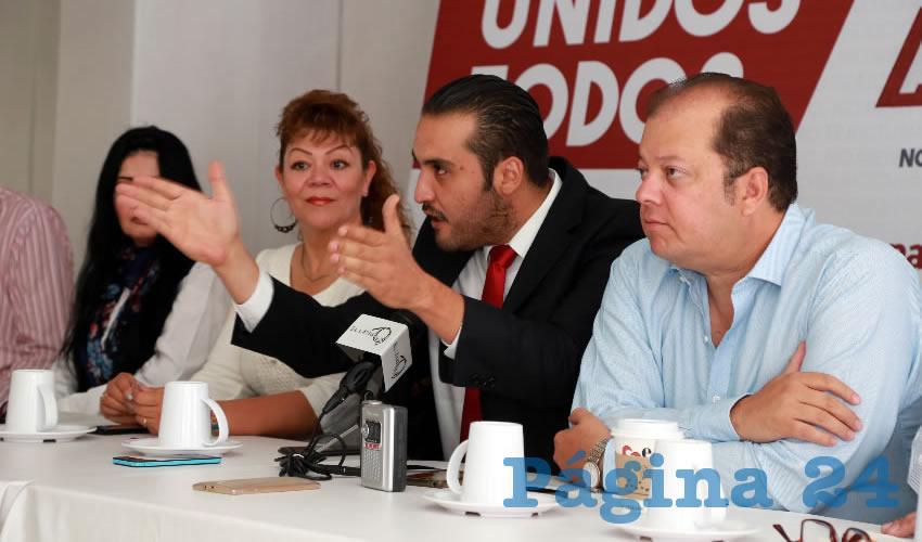 Aldo Ruiz Sánchez, presidente del Comité Ejecutivo Estatal de Morena (Foto: Eddylberto Lévano Santillán)