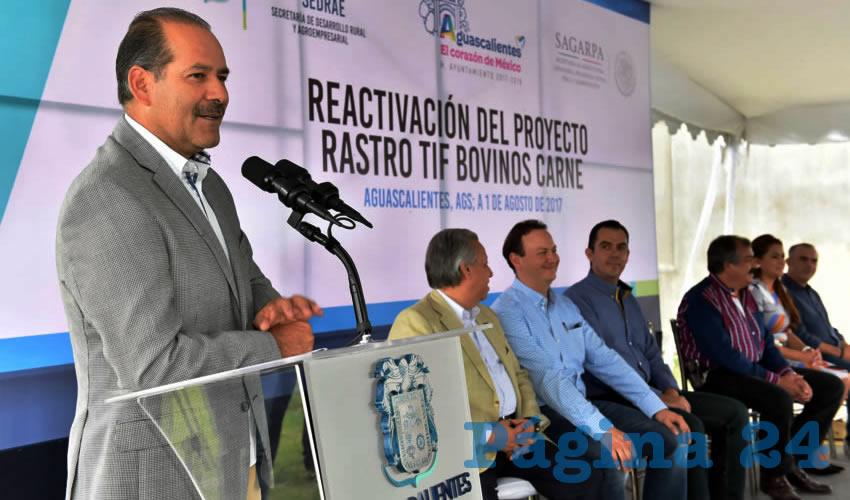 Se contempla la construcción de una sala de deshuese y procesamiento de cárnicos TIF: González Martínez