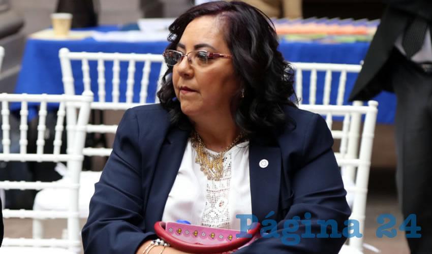 Dolores Tiscareño, delegada de la Central Mexicana de Servicios Generales de Alcohólicos Anónimos (Foto: Eddylberto Luévano Santillán)
