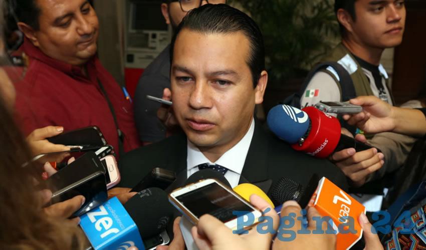 Óscar Daniel Monreal Dávila, director del DIF Municipal (Foto: Eddylberto Luévano Santillán)