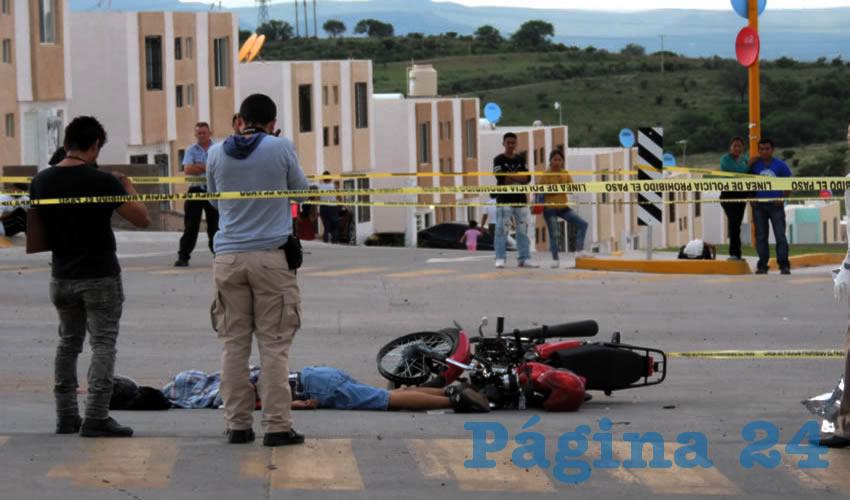 """Juan Pablo """"N"""" """"N"""" falleció en el cruce de avenida Federico Méndez y prolongación Constitucionalistas; el chofer homicida logró escapar"""