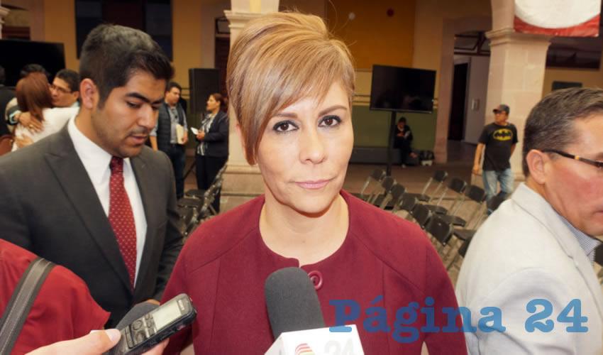 Susan Cabral Bujdud: Durante el periodo vacacional no se ha recibido ninguna queja. Enfatizó que se está trabajando de la mano con el contralor municipal (Foto Merari Martínez)